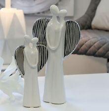 Casablanca DEKO Engel Love Weihnachtsdekoration 27 Cm weiß Silber
