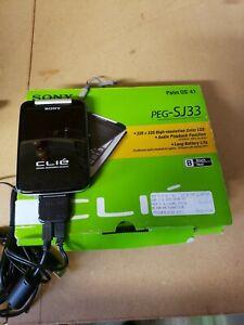 SONY Clie PEG-SJ33/U Handheld PDA Organizer With Cover