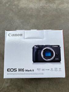 Canon EOS M6 Mark II Body Black Camera