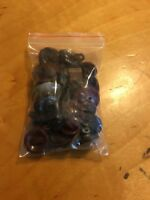 Vintage Lot Brown Buttons #1