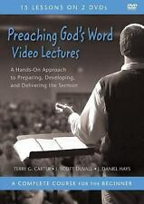 Preaching God's Word Video Lectures : A Hands-On Approach to Preparing,...