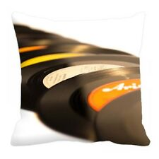 "Music Records Digital Printed Cushion Cover Sofa Home Décor Pillow Case 12""-24"""