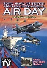 RNAS Yeovilton International Airday 2008 DVD Airshow Aircraft Aviation HMS Heron