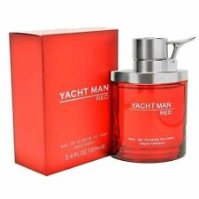Yacht Man Red Cologne by Myrurgia, 3.4 oz 100ml EDT Spray for Men SEALED NEW