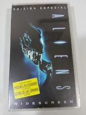 ALIENS + EXTRAS JAMES CAMERON CINTA VHS TERROR HORROR NEW SEALED NUEVO &