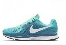 Women's Nike Air Zoom Pegasus 34 Athletic Running Walking Blue Shoes SIZE 9