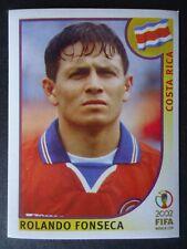 Panini Sticker 237 Rolando Fonseca Costa Rica WM 2002 Korea Japan