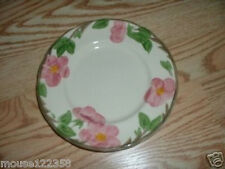 Franciscan Pink Flower Plate  Made in England