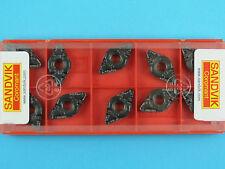 10 Sandvik DNMG 110412-PF - Grade 4225 CNC Lathe Coated Carbide Turning Inserts