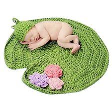 Newborn Newborn Baby Frog Lilypad Crochet Costume Photo Photography Prop USA