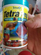 TetraPro Tropical Color Crisps, Fish Food with Natural Color Enhancers
