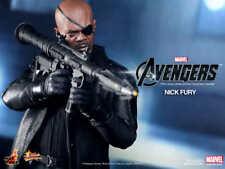 Hot Toys Avengers Nick Fury 1/6 Scale 12 Inch MMS169 Samuel Jackson NEW/SEALED!