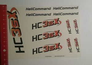 Aufkleber/Sticker: HeliCommand Hc3sx (131116126)