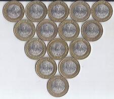 Swami Chinmayananda COMMEMORATIVE 2015 -  Rs.10/=  Bi Metallic Coin 10 NOS