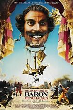 THE ADVENTURES OF BARON MUNCHAUSEN (1989) ORIGINAL MOVIE POSTER  -  FOLDED
