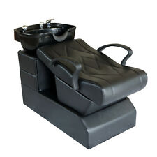 Salon Spa Backwash Chair Shampoo Bowl Unite Station Barber Beauty Equipment