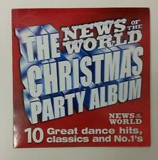 News Of The World Christmas Party Album - 10 tracks - Promo CD - VGC - Tested