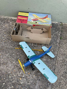 VINTAGE 1960s boxed FROG BUCCANEER PLANE model ready made kit aeroplane toy