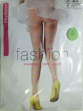 Hudson Medium Size 12 to 14 Fishnet Pattern Fashion Pantie Tights Multicolour