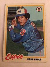 1978 Topps #654 - Pepe Frias - Montreal Expos