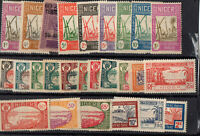 26 TIMBRES AOF/NIGER neufs **