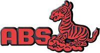 Auto 3D Relief Emblem ABS Zebra rot 10 cm Schild von HR Art. 4903 selbstklebend