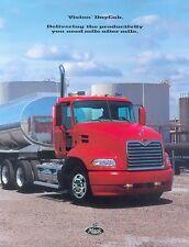Mack Vision DayCab Truck Prospekt brochure 2002 LKWs Nutzfahrzeuge Lkw Amerika