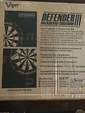 New listing Viper Defender III Extended Length Dartboard Surround Wall Protector