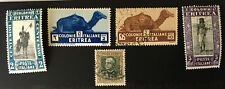 Eritria Stamps MLH and Used