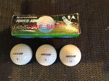 Rare *Korvettes Power King Golf Balls*