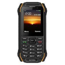 Aspera R32 - Black Mobile Phone