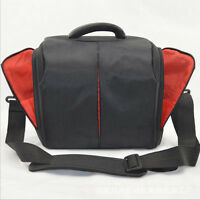 Camera Shoulder Case Messenger Bag Outdoor Case For Canon Sony Nikon DSLR Camera