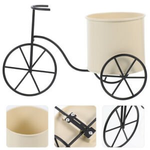 Iron Bicycles Flower Stand Pen Holder Rustic Bicycles Design Flower Holder