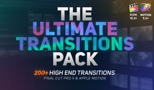 The Ultimate Transitions Pack for Final Cut Pro X & Apple Motion