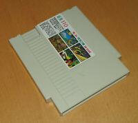 Rare vintage early 1990s NTSC US Nintendo NES 110-in-1 game cartridge