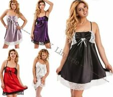 Polyester Patternless Plus Size Nightwear for Women