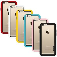 AMZER BUMPER BORDER FRAME CASE BACK PROTECTIVE COVER FOR APPLE IPHONE 6S