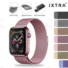 【iXTRA®】Apple Watch Series 7 SE 6 5 4 3 2 Milanese Magnetic Stainless Steel Band <br/> 【💲Money Back Guarante ⚡Sameday Dispatch🐨Sydney Stock】