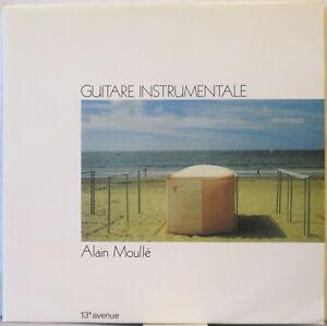 ALAIN MOULLE Guitare Instrumentale – 13e Avenue LP, on Musea Parallele, moullé