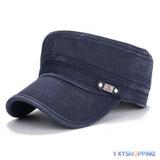 Army Plain Hat Classic Cadet Field Military Cap Style Patrol Summer Baseball Hat