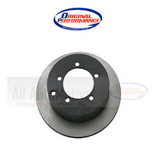 Disc Brake Rotor-Original Performance Rear WD Express 405 37034 501