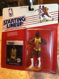 MAGIC JOHNSON 1988 Starting Lineup LA Lakers