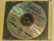 """""""STILL SEALED"""" CD by ARSENAL """"HALF-COCKED, FULLY LOADED"""" (DEMO)"""