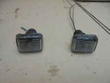 MG TF 2003 PAIR OF FRONT WING INDICATOR SIDE MARKER REPEATER LIGHTS