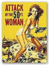 MOVIE ART PRINT Attack of the 50 Foot Woman Anonymous