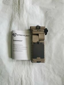Sidewinder Military Styled Flashlight Stream Light
