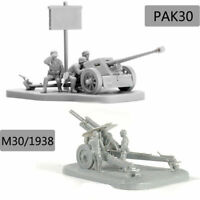 4D 1:72 Scenario PAK40 M30 M1938 Assembly Model Cannon Assemble Puzzle Brick Toy