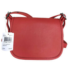 COACH Glovetanned Saddle Bag 18 in Glovetanned Leather NEW NO SIZE BRGHTORANG