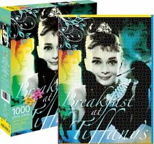 Audrey Hepburn Breakfast At Tiffanys 1000 piece jigsaw puzzle 690mm x 510mm (nm)