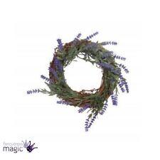 Gisela Graham Purple Lavender Twig Wreath 20cm Door Wedding Easter Decoration